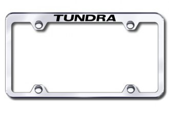 Autogold® - Laser Etched Tundra Logo on Chrome Frame