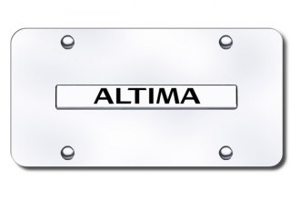 Autogold® ALT.N.CC - Altima Name Logo on Chrome License Plate