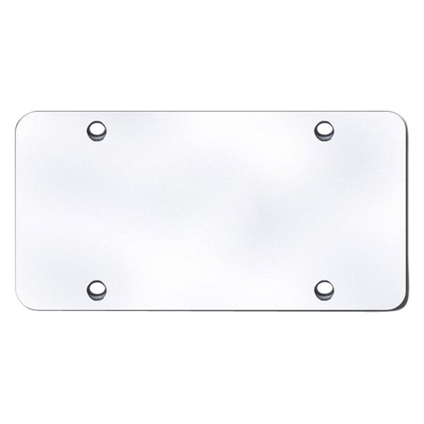 Autogold® - Stainless Steel Full Size Blank Plate