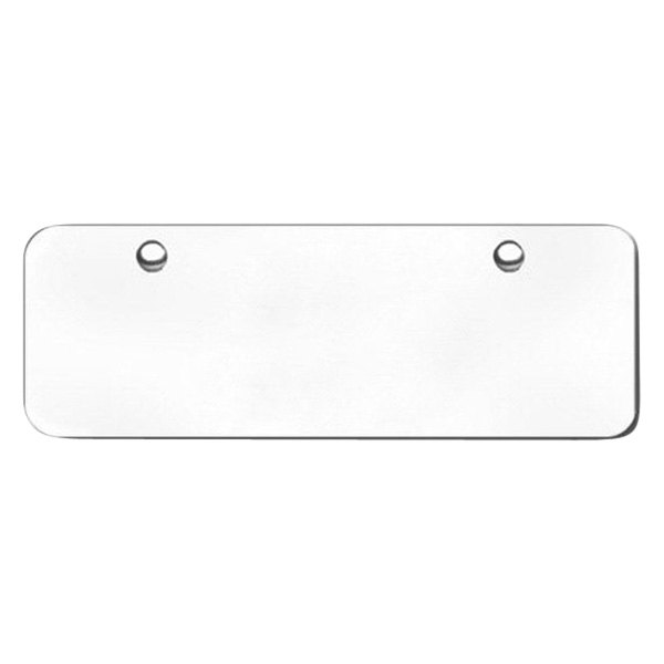 Autogold® - Stainless Steel Mini Blank Plate