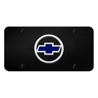 Autogold® - License Plate with Chevrolet Emblem