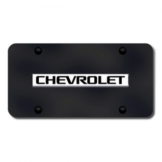 Autogold® - License Plate with Chevrolet Logo
