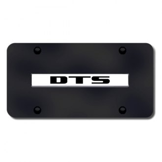Autogold® - DTS Logo on Black License Plate