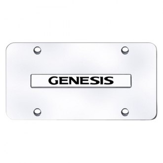 Autogold® - License Plate with Genesis Logo