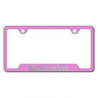 Autogold® - Premier Collection Pink License Frame Universal