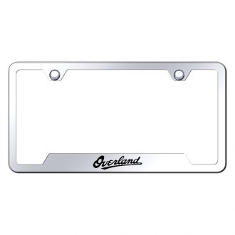 Autogold® - Premier Collection Chrome License Frame Universal