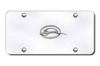 Autogold® - Impala Logo on Chrome License Plate