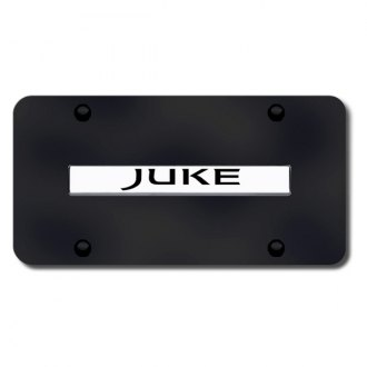 Autogold® - Juke Logo on Black License Plate