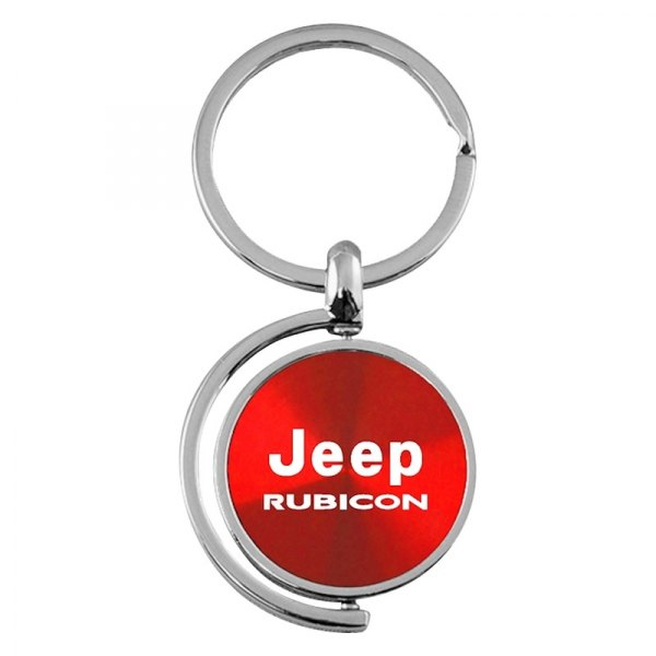 Autogold® - Rubicon Red Spinner Key Chain