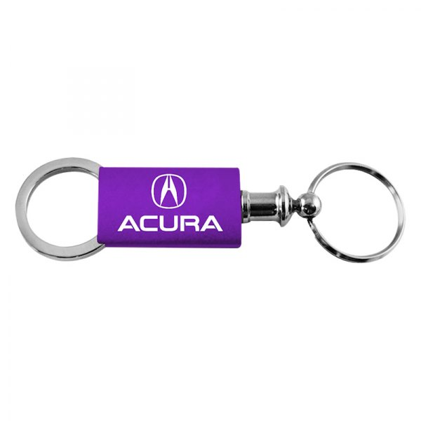 Autogold® - Acura Purple Anodized Aluminum Valet Key Chain