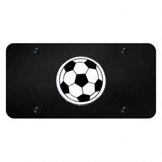 Autogold® - License Plate with Soccer Ball Logo