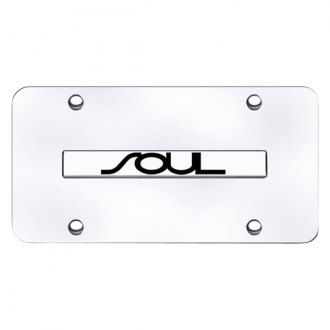Autogold® - License Plate with Chrome Soul Logo