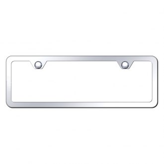 Autogold® - Thin 2-Hole License Plate Frame