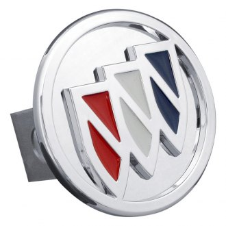 "Autogold® - Hitch Cover with Buick Tri-Color Fill Logo for 1-1/4"" Receivers"