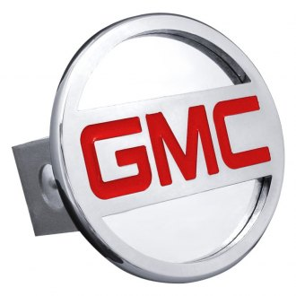 Autogold® - Hitch Cover with GMC Name Logo