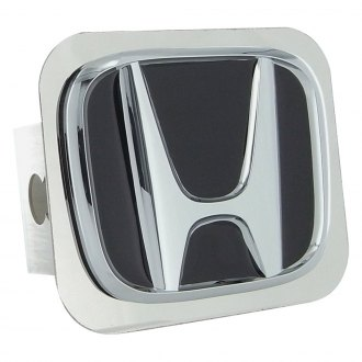 Autogold® - Chrome Hitch Cover with Honda Class II Logo