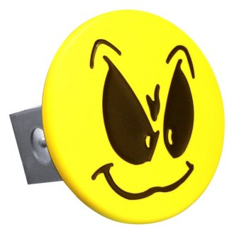 "Autogold® - Hitch Cover with Grimace Logo for 1-1/4"" Receivers"