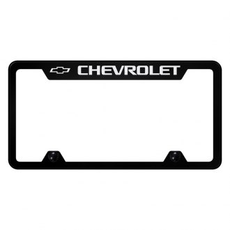 Autogold® - Truck License Plate Frame with Laser Etched Chevrolet Logo