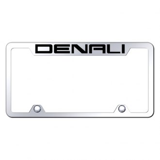 Autogold® - Truck License Plate Frame with Laser Etched Denali Logo