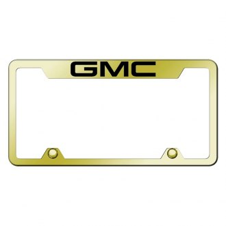 Autogold® - Premier Collection Gold License Frame Semi Universal