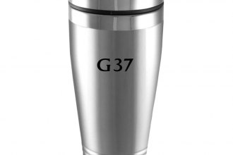 Image may not reflect your exact vehicle! Autogold® - Infiniti G37 Silver Tumbler