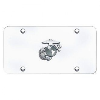 Autogold® - License Plate with U.S. Marine Corps Anchor Logo