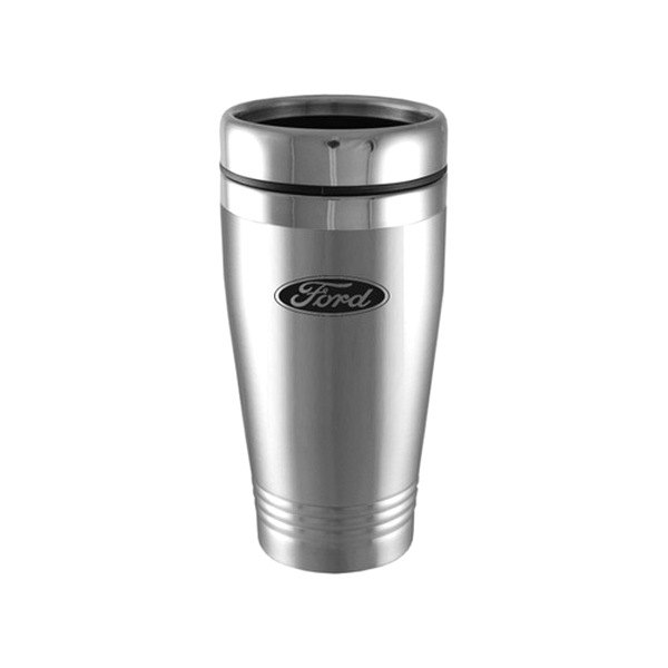 Image may not reflect your exact vehicle! Autogold® - Ford Silver Tumbler