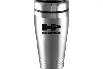 Autogold® - Hummer H2 Silver Tumbler