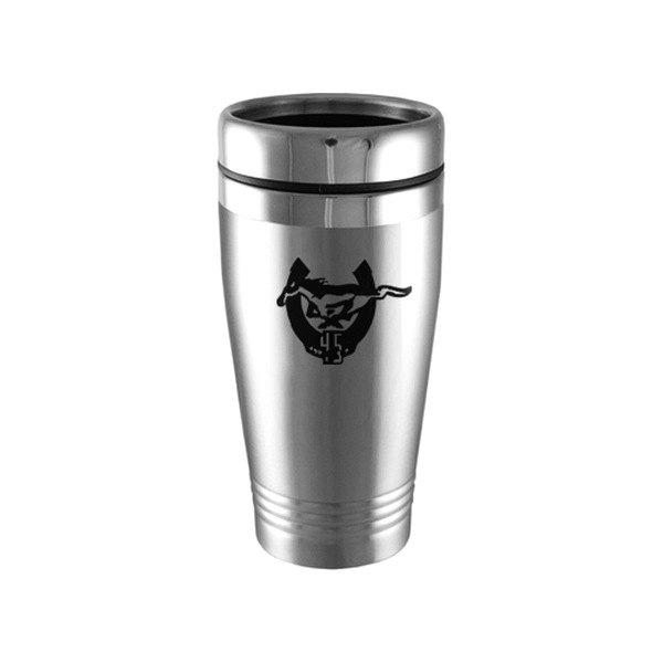 Autogold® - Mustang 45th Anniversary Silver Tumbler