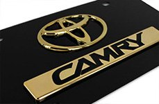 AutoGold® - License Plate for Toyota Camry