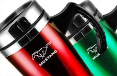 AutoGold® - Travel Mug with Mustang Logo