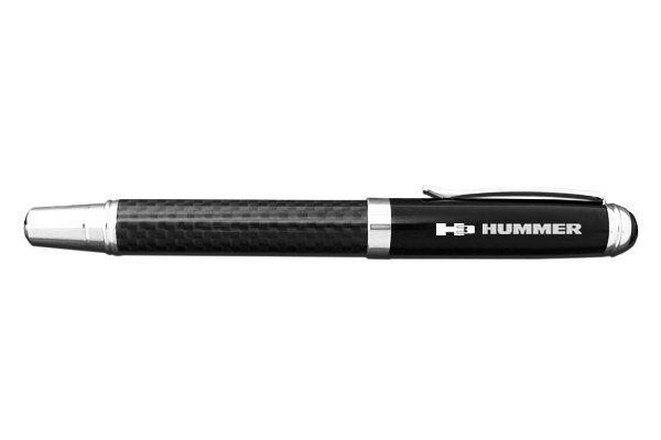 Autogold® - Hummer H3 Black Carbon Roller Ball Pen