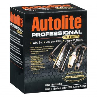 Autolite® - Professional Series™ OE Replacement Spark Plug Wire Set with Angled Distributor Boots