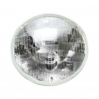 "AutoLoc® - 7"" Round Chrome Factory Style Sealed Beam Headlight"