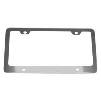 AutoLoc® - License Plate Frame with Light Bolts and Caps