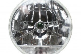 "AutoLoc® - 7"" Lens Assembly with Tri-Bar and Clear Turn Signal"