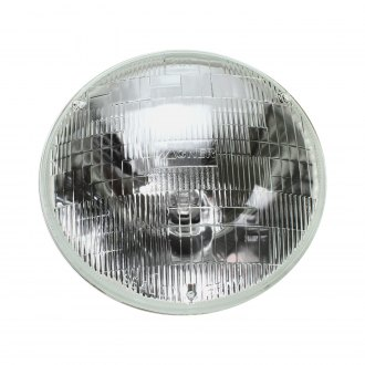 "AutoLoc® - 7"" Round Chrome Factory Style Sealed Beam Headlights"