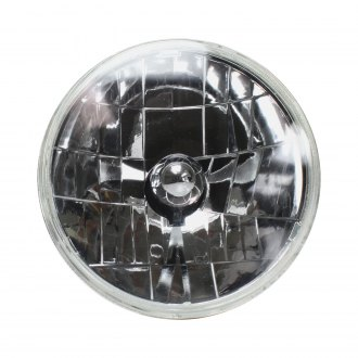 AutoLoc® - Mustang Halogen Euro Chrome Headlight Chrome Lens Assembly