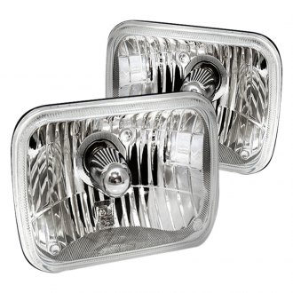 AutoLoc® - Rectangular Crystal Sealed Beam Headlights