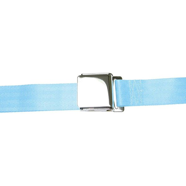 AutoLoc® - 2 Point  Airplane Buckle Seat Belt (Electric Blue)
