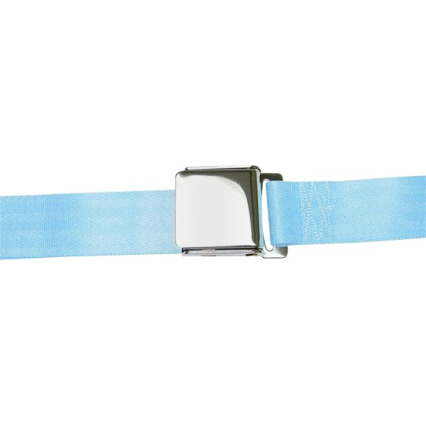 AutoLoc® - 2 Point Airplane Buckle Seat Belt (Sky Blue)