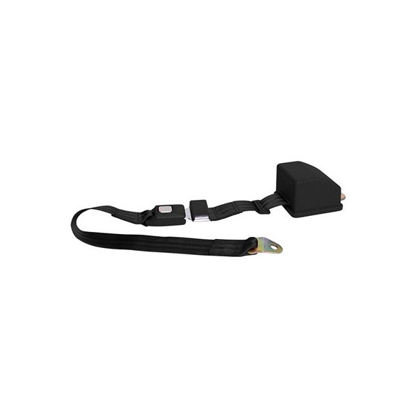 AutoLoc® - 2 Point Retractable  Seat Belt (Black)