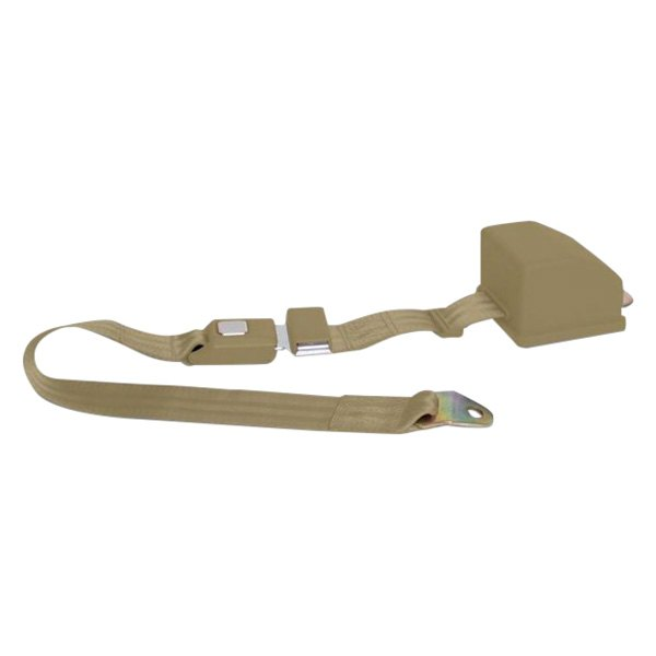 AutoLoc® - 2 Point Retractable Camel Seat Belt with Push Button