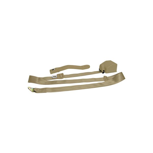 AutoLoc® - 3 Point Retractable Camel Seat Belt with Push Button
