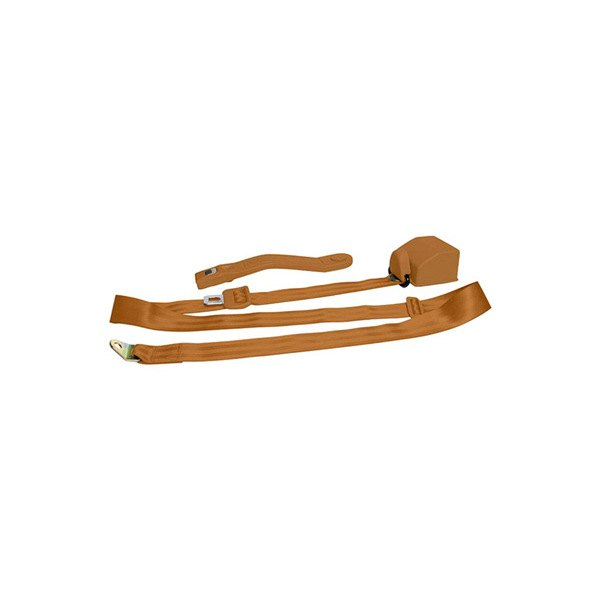 AutoLoc® - 3 Point Retractable Copper Seat Belt with Push Button