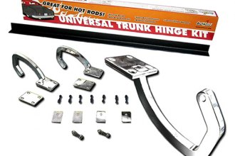 AutoLoc® - White Zinc Plated Trunk Hinge Kit