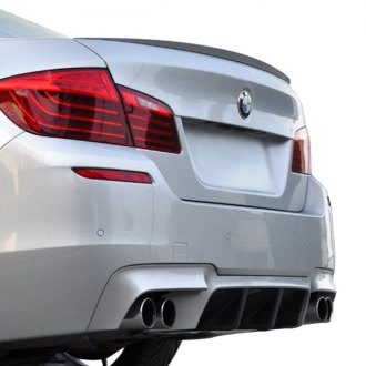 AutoTecknic® - Carbon Fiber Competition Rear Center Diffuser