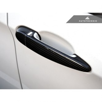 AutoTecknic® - Dry Carbon Fiber Door Handle Trims