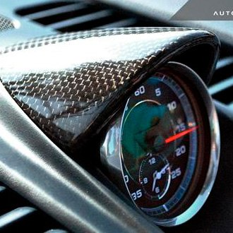 AutoTecknic® - Carbon Fiber Chrono Eye Lid Cover