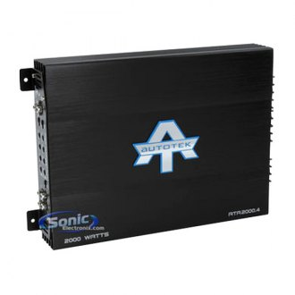 Autotek® - ATA Series Class AB 4-Channel 2000W Amplifier